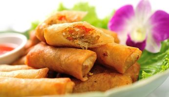 Spring Roll vs egg roll