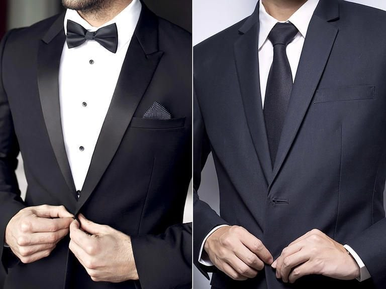 Tux Vs Suit Difference