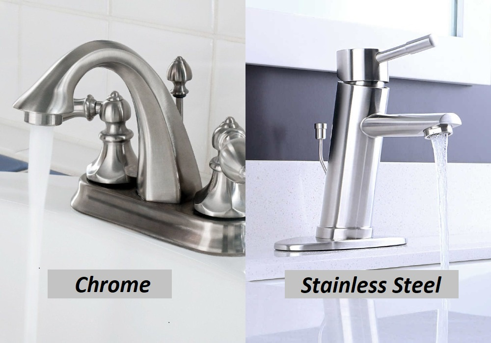 Chrome or Stainless Steel