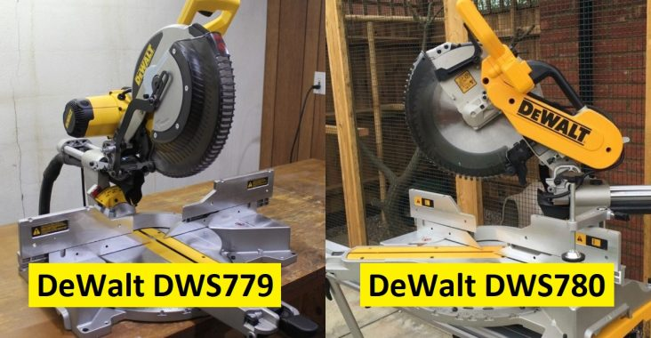 Difference between DWS779 and DWS780