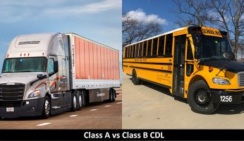 Difference Between Class A and Class B CDL