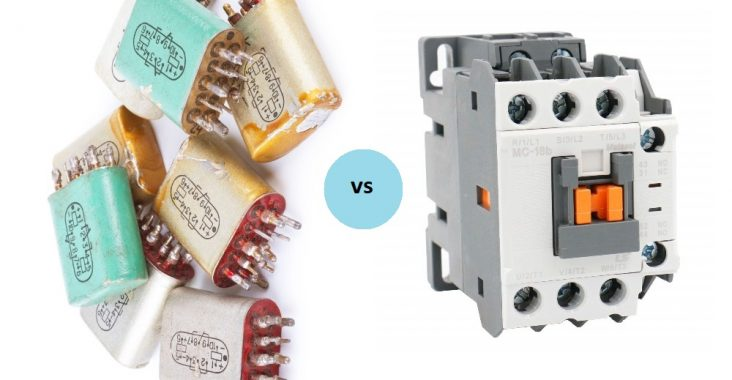 Difference Between Relay and Contactor