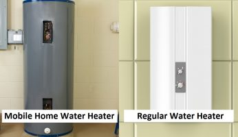 Difference between Mobile Home Water Heater and Regular Water Heater