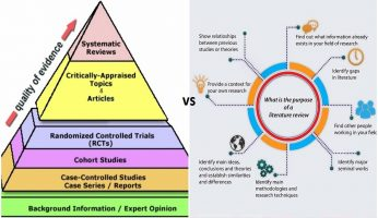Difference Between Systematic Review and Literature Review