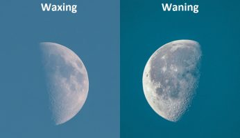 Difference Between Waxing and Waning
