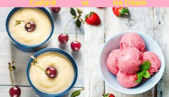 Difference Between Frozen Custard and Ice Cream