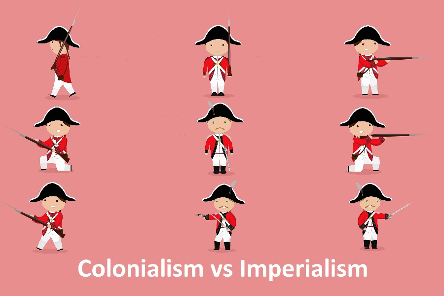 colonialism vs imperialism