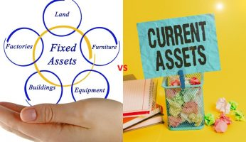Difference between Fixed Assets and Current Assets