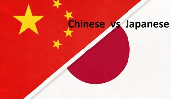 difference between Chinese and Japanese people