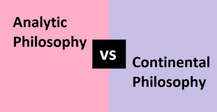 difference between analytic and continental philosophy