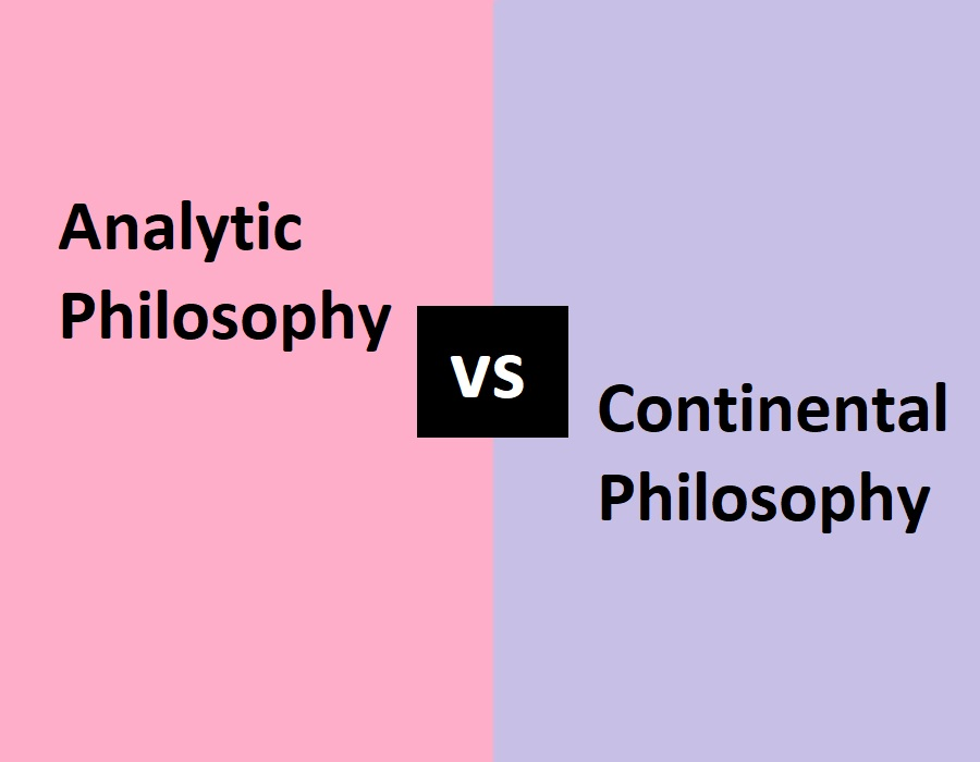 analytic vs continental philosophy
