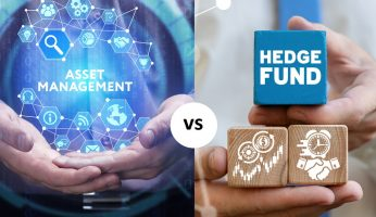 difference between asset management and hedge fund
