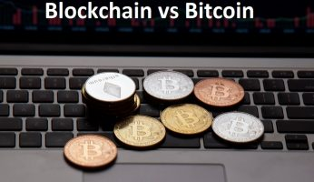 difference between blockchain and bitcoin