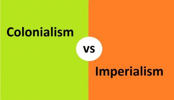 difference between colonialism and imperialism