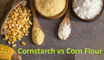 difference between cornstarch and corn flour