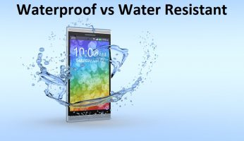 difference between waterproof and water resistant